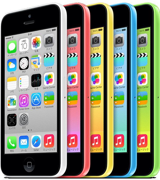 SoftBankのiPhone5cは色によって月月割が違う&それぞれの維持費を計算